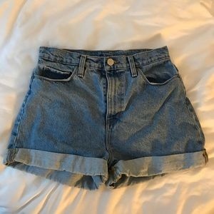 Urban Outfitters Denim Mom Shorts